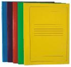 Kartoninis aplankas A4, geltonas
