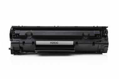 HP CF283X (HP83X) Canon CRG-137/337/737 kasetė juoda (nauja)
