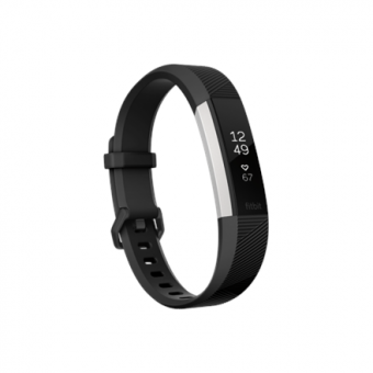 Fitbit Alta HR Small FB408SBKS-EU OLED, Warranty 24 month(s), Touchscreen, Bluetooth, Yes, Heart rate monitor, Black/Stainless Steel