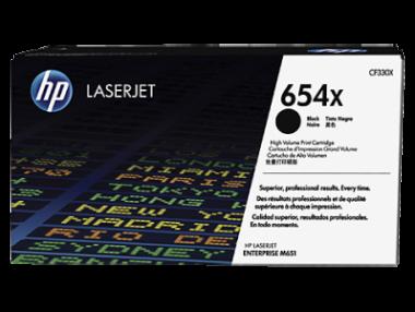Hewlett-Packard 654X (CF330X) Juoda, 20500 psl.