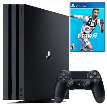 Sony Playstation 4 Pro 1TB (PS4) Black + Fifa 19